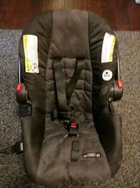 baby's black and gray car seat carrier Dallas, 75243