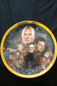 Star Trek TNG The best of both worlds collector plate Mississauga, L4Z 1W3