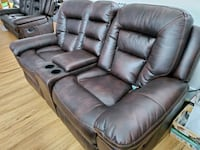 2 Leather recliner couches Calgary, T2M 3W4