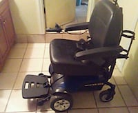 black and blue Elite motorized wheelchair Albany, 31707