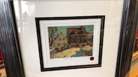 brown wooden framed painting of house Mississauga, L4X 1L9