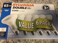 Sylvania 65w Double Life Indoor Flood Light Value 6 Pack Gainesville, 20155