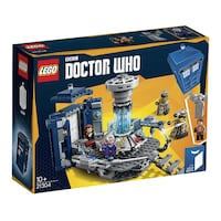 LEGO Ideas Doctor Who dr who 21304 retired brand new Edmonton