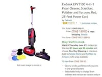 Floor Scrubber & Polisher with Vac /Ewbank/ Refurbished Mississauga