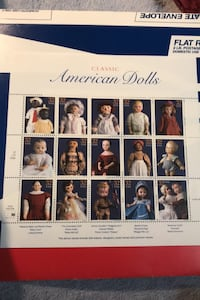 SCOTT #3151  US SOUVENIR  STAMP SHEET    AMERICAN  DOLLS  32 CENT MNH Beltsville, 20705