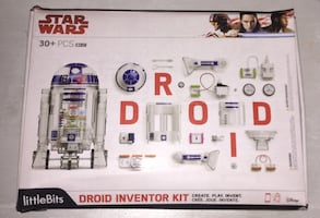 Star Wars build your own droid kit