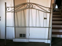 gray metal bed headboard and footboard Rockville, 20854