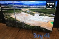 75' Sony 4K model XBR-75X850D Los Angeles, 91304