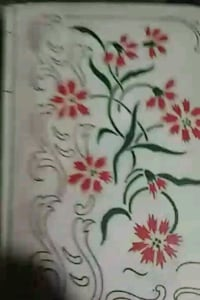 white and red floral textile Riverton, 82501