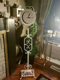 antique wrought iron clock Whitby, L1N 8X2