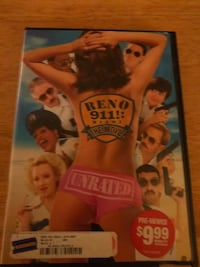 Reno 911! Miami The Movie Unrated DVD case Eastover, 29044