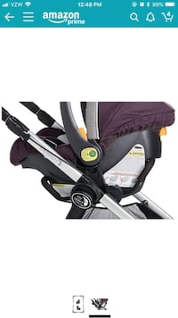 baby's black and gray stroller Los Angeles, 91411