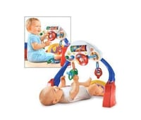 Fisher price kick and drive activity gym 791 km