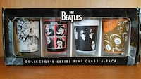 The Beatles collectors series pint glass 4 pack Mesa, 85204