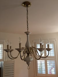 Chandelier.  24 inches wide X 20 inches long. Excellent condition Nutley