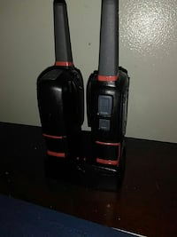 Two-way radios with charger