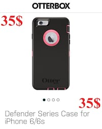 iPhone 6/6S DEFENDER OTTERBOX $35 OR $40 WITH TEMPERED GLASS Montréal