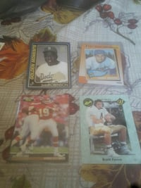 four assorted trading card collection Red Oak, 75154