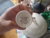 Rare limited edition and numbered fine bone China  550 km