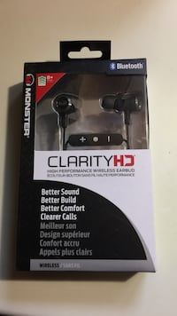 Clarity HD monster wireless earbuds  Montreal East, H1E 3L1