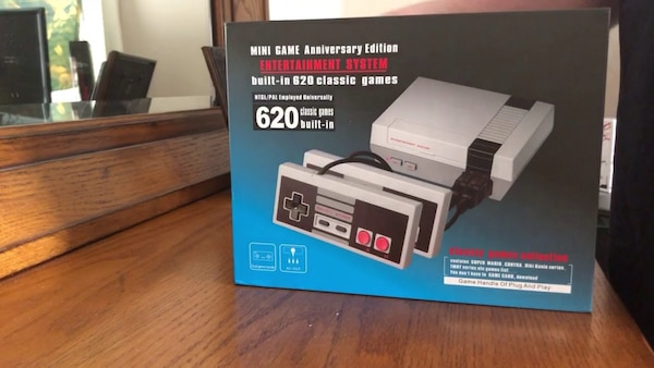NES mini sold out in stores has 620 in 1.