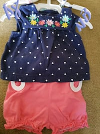 toddler's pink and black dress Clear Brook, 22624