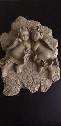 two brown ceramic angel figurines Woodbridge, 22193