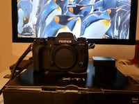 Fujifilm XT1 with grip and leather strap Surrey, V3S 7Y4