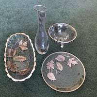 Silver Plated Dining Set