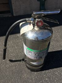 Refillable reusable chemical fire extinguisher 2018 (uses water ) Aptos Hills, 95003