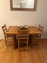Wood Table W/3 Chairs Frederick, 21702