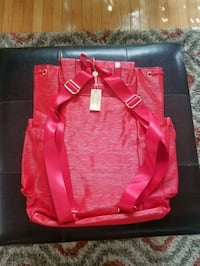 red and black leather tote bag Culpeper, 22701