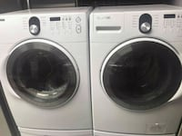 white Samsung front load washer and dryer set Phoenix, 85040