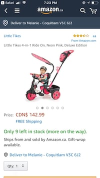 Little trikes 4 in 1 trike Coquitlam, V3J 4E5