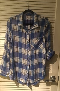 Reaction Plaid Button Down Shirt in XL Arlington, 22209