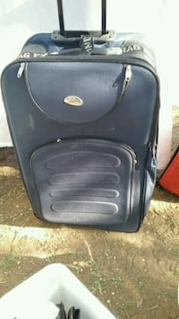 black and gray softside luggage Lubbock, 79413