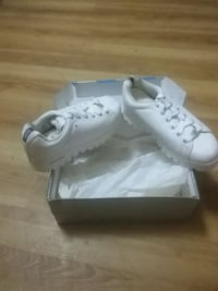 Brand new Skechers all white top notch The Bronx, 10457