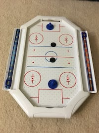 "Mini table top air hockey- 21"" Falls Church, 22043"
