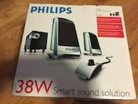 Phillips 38w speakers Markham