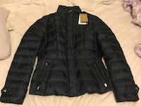 Burberry zip-up bubble jacket
