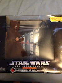 Star Wars Collection Series Obi-Wan Kenobi VS. Darth Vader action figure with box