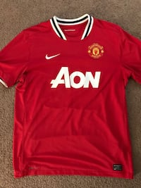 Custom Authentic Manchester United Nike Jersey  Lancaster