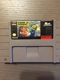 SNES Mario Is Missing Calgary, T2S 3A1