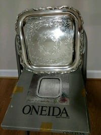 Oneida Silverplate Serving Tray 24 km
