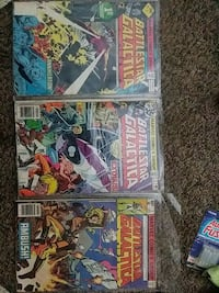 1st, 2nd, 5th issues of battle Star Galactica Portland, 97236
