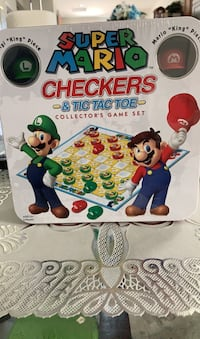 New super Mario checkers and tic tax toe  Jacksonville, 32258