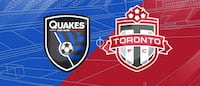 TFC vs. San Jose Earthquakes, May 26 – Lower Bowl, Midfield Toronto
