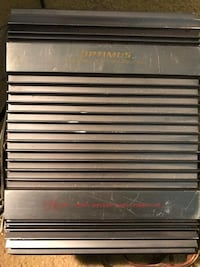 Optimus bridgeable amplifier  Hammonton