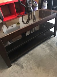 Wood and glass tv stand 48x18 22 fall Port Orange, 32128
