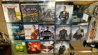 New releases blueray high def 4k movies  & box sets   Portsmouth, 23707